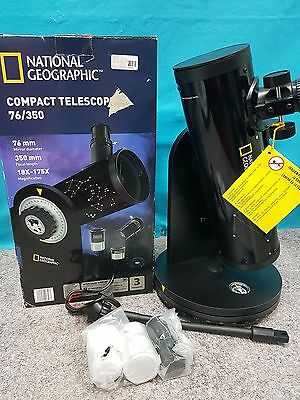 National Geographic  Compact Telescope 76/350