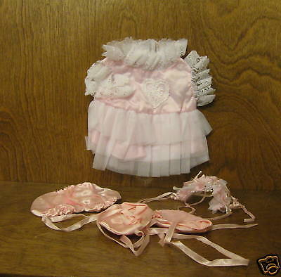 Tender Heart Treasures 82066 BALLET outfit NEW from Retail Store, Plastic Wrap
