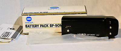 Minolta Battery Pack BP-90M NEVER USED In Box For Maxxum 9000