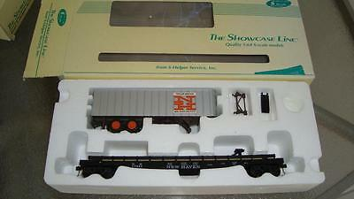 Showcase Line S Scale New Haven Trailer Flat Car NEW in BOX #00193