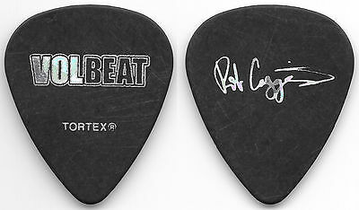 Volbeat-2017 Tour Guitar Pick! Rob Caggiano! Charcoal/silver!