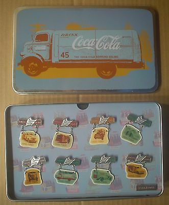 Coca-Cola Route Trucks 1950s – 1960s ~ Beijing Olympics ~ Limited Set in Tin