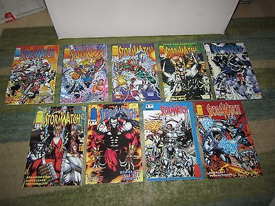 Awesome Stormwatch Original Series #1,2,3,4,6,7,8