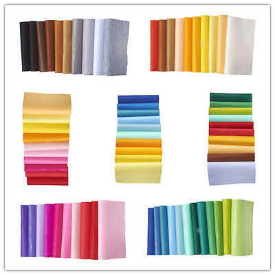1Set Mixed Color Square Non Woven Polyester Embroidery Needle Felt DIY Findings