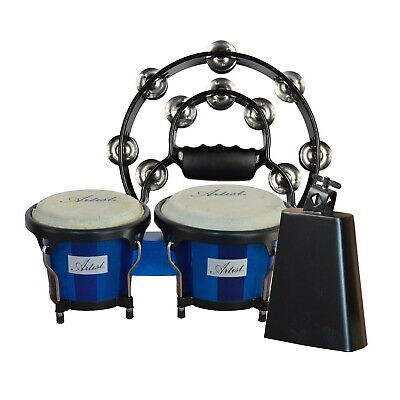 Artist Percussion Pack - Bongos, Cowbell - New