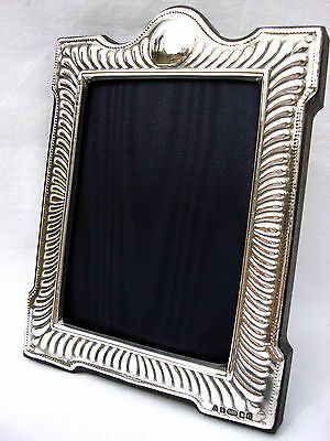 Beautiful Finest Quality 999 Hallmarked Silver London & Britannia Photo Frame.