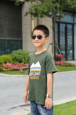 Fashion Kids Girls Boys Children Sunglasses Students Aviator Summer Eyewear