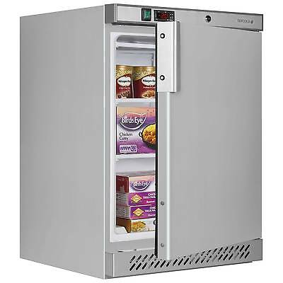 Tefcold Uf200Ss Stainless Steel Undercounter Freezer @ £416+ Vat & Free Delivery