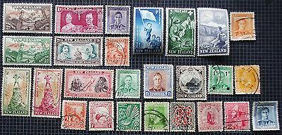 NEW ZEALAND - Early Collection of  Issues - MH &Used