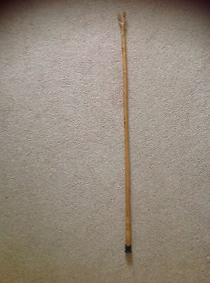 Long Wooden Walking/Stave stick.
