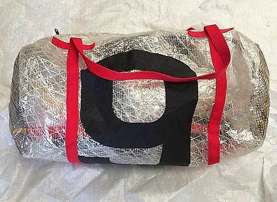 """Sailing kit bags from used dacron sail cloth """"well trendy"""""""