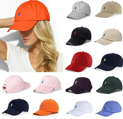 New POLO Caps Cap Adjustable Strap Baseball Hat Pony Logo Adjustable Many Colors