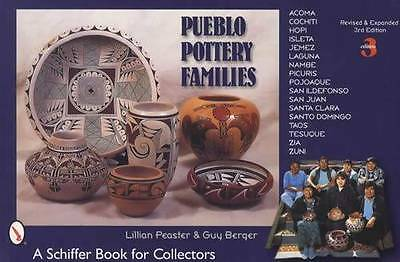 Pueblo Indian Art Pottery Artist Families Collector Guide #rd Ed Native American