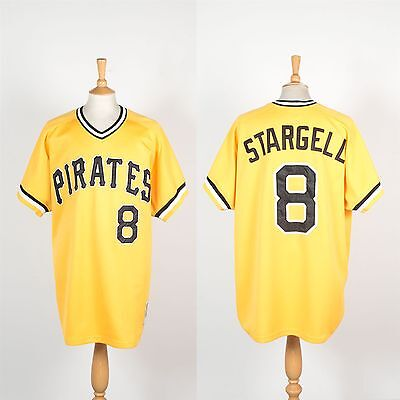 Mitchell & Ness Pittsburgh Pirates Mlb Baseball Jersey Shirt Big Tall 3Xl Xxxl