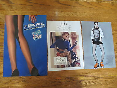 Nice Lot Pantyhose Print Ads,clippings ,well,voila.
