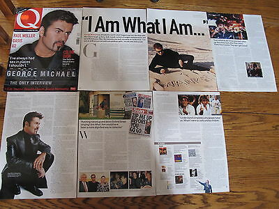 George Michael Lot Us Clippings