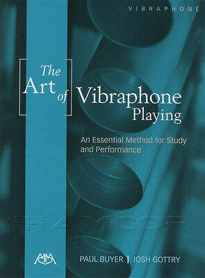 The Art of Vibraphone Playing Sheet Music Book Essential Method for Study