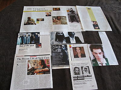 Nick Cave Great Us Clippings
