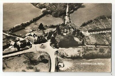 sa england Herefordshire postcard aerial view of bredwardine village