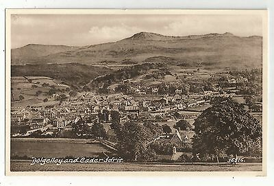 re wales welsh postcard dolgelley