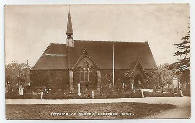 sa england hertfordshire postcard english hertford heath church