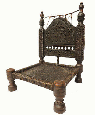 Antique Wedding Chair Afghanistan Nuristan Antik Afghan Stuhl swat valley 19/E