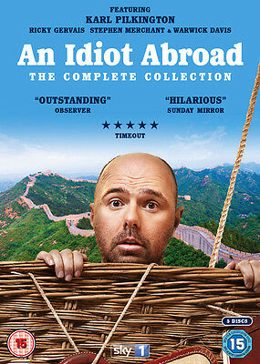 An Idiot Abroad: The Complete Collection DVD Box Set NEW