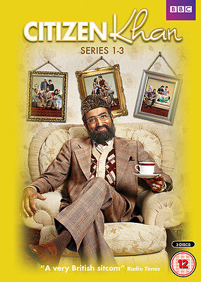 Citizen Khan: Series 1-3 DVD Box Set NEW