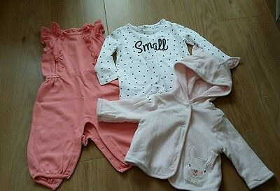 Baby Girl 3-6 months Clothing Bundle Gap Early Days Primark La Redoute