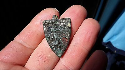 Strange Bird Medieval Harness Pendant-Detecting Find