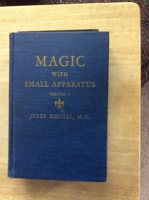 Magic With Small Apparatus - Volume 1 - Jules Dhotel   -  Hb