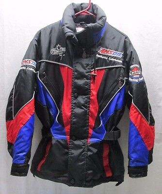 Amsoil Choko Racing Gear Jacket Winter Snowmobile Mens Small S Winter Coat