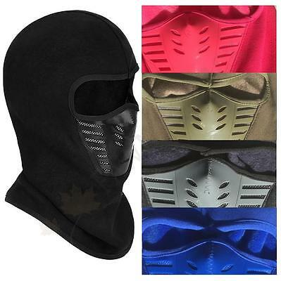 Balaclava Outdoor Windproof Motorcycle Under Helmet Thermal Ski Fleece Face Mask