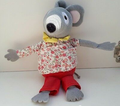 Bagpuss Lizzie Singing Mouse Soft Plush Toy
