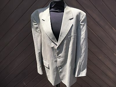 """Vintage A W Trench Mens 2 Piece Suit Size 42"""" Jacket 34"""" S Trousers"""