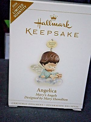 """Hallmark Mary's Angels """"angelica"""" Ornament 1St In Series"""