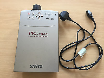 Sanyo PRO xtra Multimedia Projector - Not working