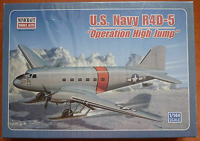 Minicraft 1/144 DC-3 C-47 R4D-5 Operation High Jump