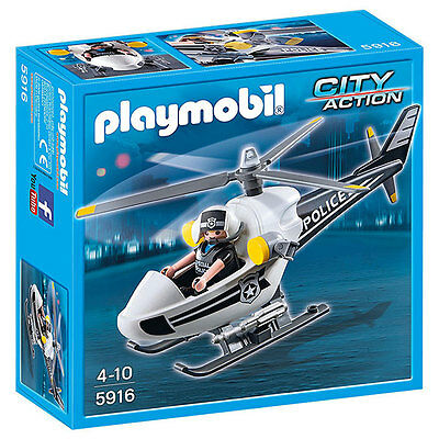 PLAYMOBIL Police Helicopter - City Action 5916