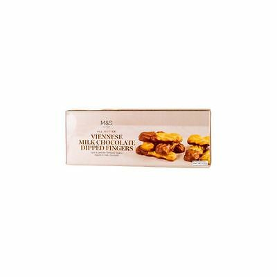 Marks & Spencer All Butter Viennese Milk Chocolate Dipped Fingers 135g