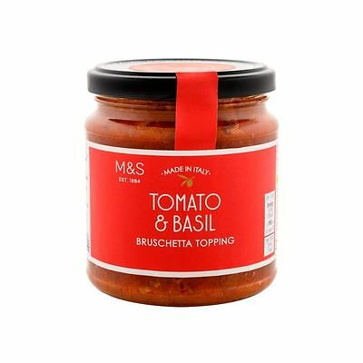 Marks & Spencer Tomato & Basil Bruschetta Topping 280g