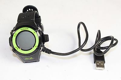 Garmin Approach S2 GPS Rangefinder Golf Watch Black Green with Charger