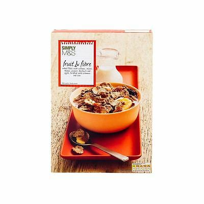 Marks & Spencer Fruit & Fibre Wheat Flakes 500g