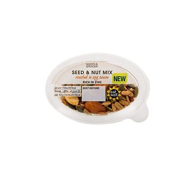 Marks & Spencer Seed & Nut Mix Roasted In Soy Sauce 70g
