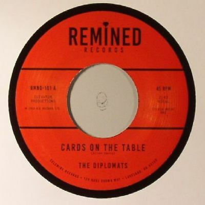 "DIPLOMATS, The - Cards On The Table - Vinyl (7"")"