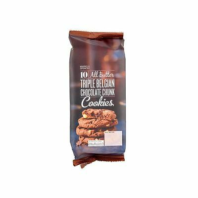 Marks & Spencer All Butter Triple Belgian Chocolate Chunk Cookies 225g