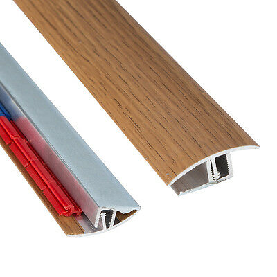 Threshold Transition Strip - Multifloor - Self Adhesive - Dark Wood - 900mm