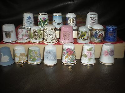 lovely collection of 20 TCC thimbles , TOP MAKERS