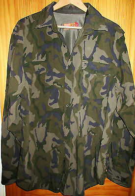 Mens Craghoppers Bear Grylls Camouflage Hiking Camping Shirt Size L / Xl