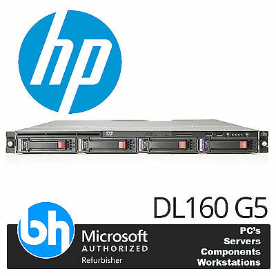HP ProLiant DL160 G5 Servidor Rack Xeon Quad Core 3.00ghz 16gb RAM P400 SAS/SATA